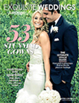 Featured in Exquisite Weddings magazine---