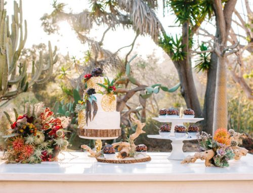 Picnic table rental San Diego Style Weddings magazine