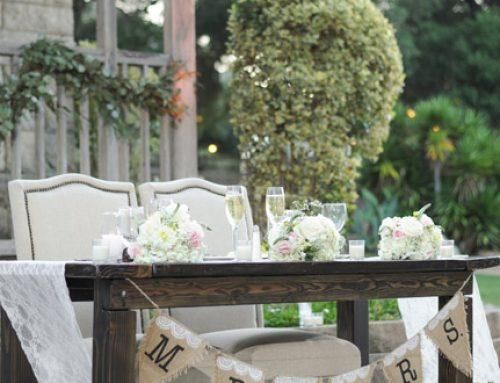 wood farm table rentals 30